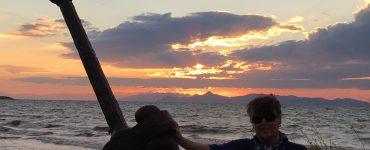 Kavouri Beach Sunset