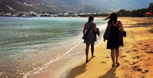 Girl trip Greece