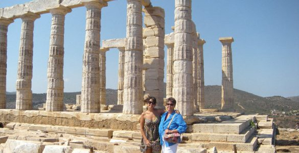 Mother Daughter Greece